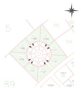 El Paraiso Verde star circle